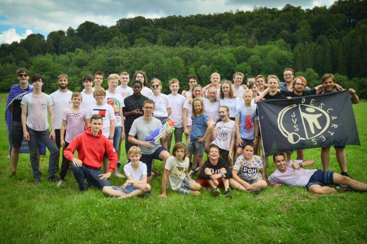 Groepsfoito 2020 van het kamp in Chassepierre